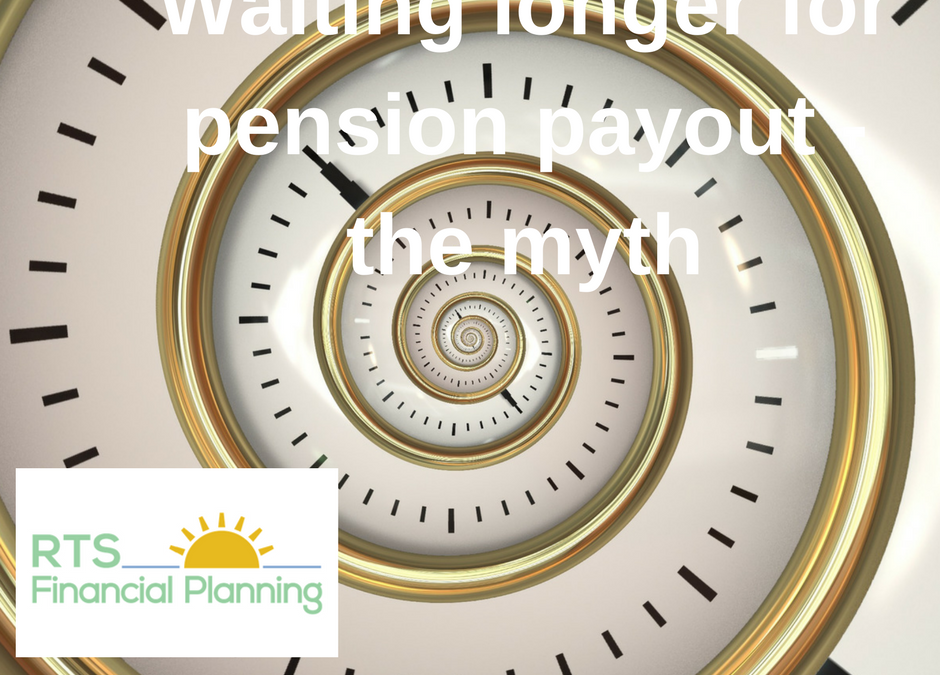 Waiting longer for pension payout – the myth