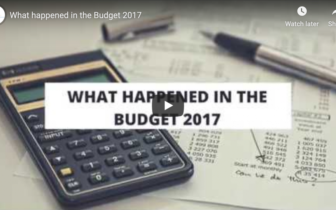 What happened in the Budget 2017