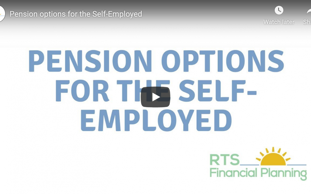 Pension options for the self-employed