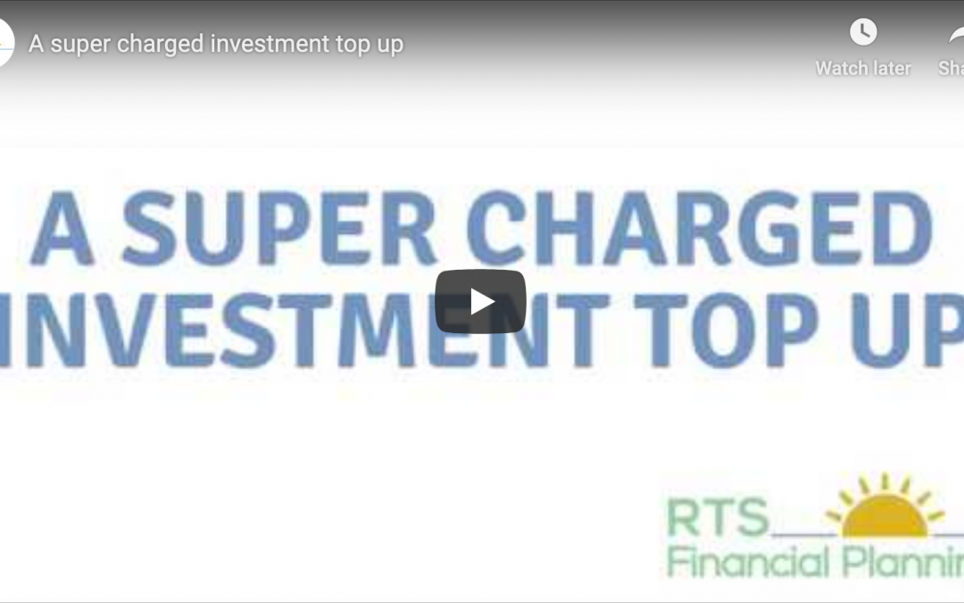 A super charged investment top up