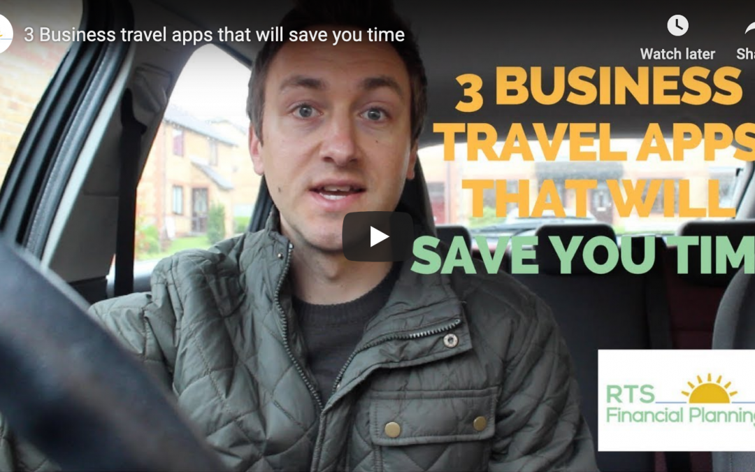 My current 3 favourite business travel apps